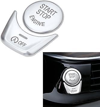 Motor de Arranque Parada Coche Interruptor de botón cubre Trim Para BMW 5 6 7 F01 F02 F10 F11