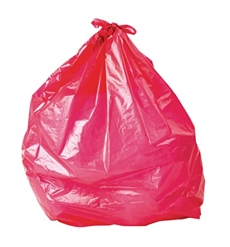 Bolsas de basura rojas: Amazon.es: Hogar