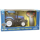 New Ray 88553 - Tractor New Holland de juguete (escala 1:24)