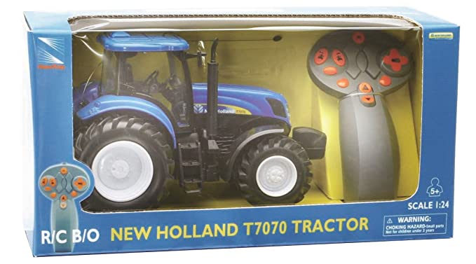 New Ray 88553 - Tractor New Holland de juguete (escala 1:24): Amazon.es: Juguetes y juegos