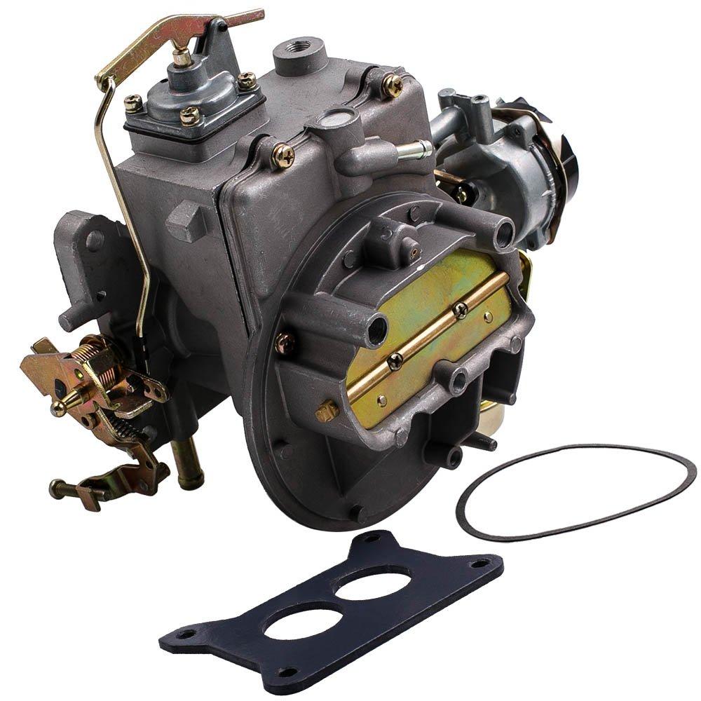 Maxpeedingrods 2 Barrel Carburetor For Ford F100 F250 Jeep 360 Engine Diagram F350 With 289 302 351 Cu Wagoneer Sj 1964 1978 Automotive