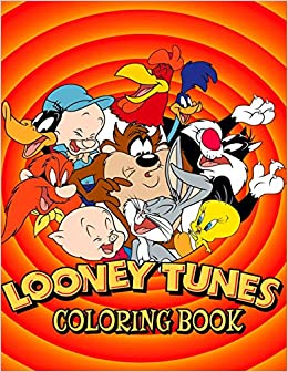 Amazon.com: Looney Tunes Coloring Book: Coloring Book for Kids and ...