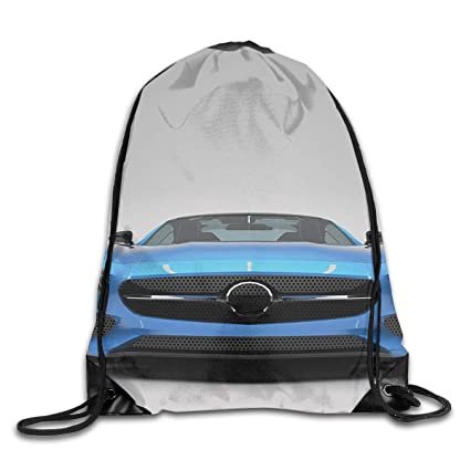 dc284f98992ce5 Amazon.com | Mastexoru drawstring backpack Modern Blue Sports Car Gym Sport  Bag Drawstring Bag Backpack Draw Cord Bag for Men Women Gym, Sport, Yoga,  Dance, ...