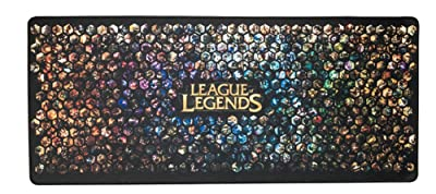 Extra Large League of Legends LoL Super Mouse Pad - 27.5''x11.8''x0.11'' Dimension