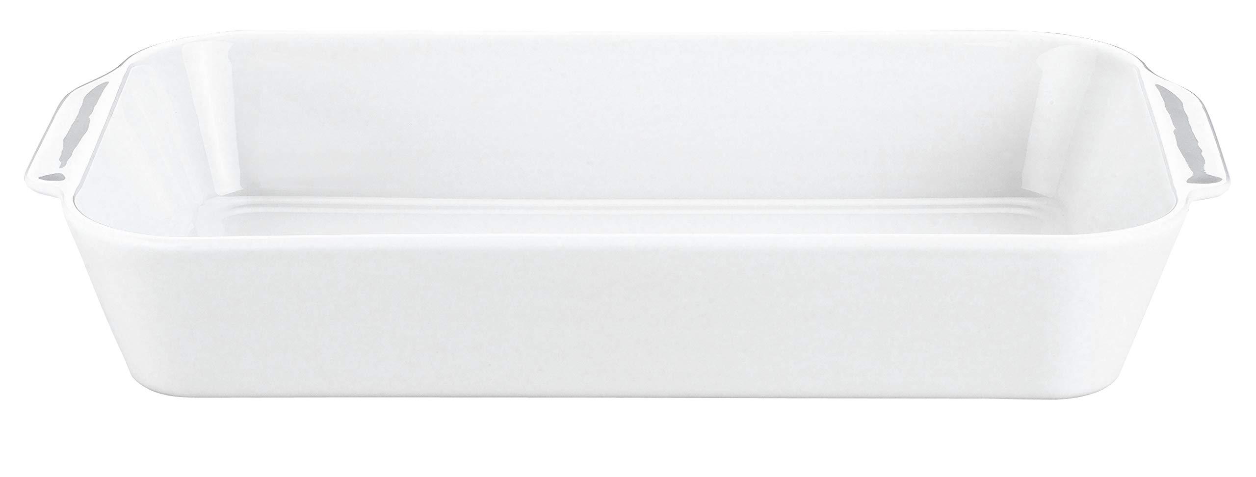 Pillivuyt Large Eared Rectangular Roaster - Deep - 9 X 13 X 2 1/2