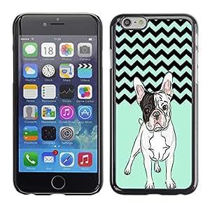 - Ocean Seas - - Monedero pared Design Premium cuero del tir¨®n magn¨¦tico delgado del caso de la cubierta pata de ca FOR Apple iPhone 6 6S 4.7 Funny House