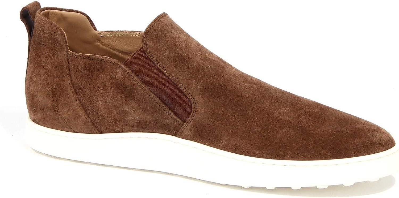 4071J Sneaker Uomo Brown Tod'S Scarpe Suede Slip on Shoe Man Marrone