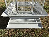 """Extra Large Castle PlayTop Parrot Cage 32"""" W x"""