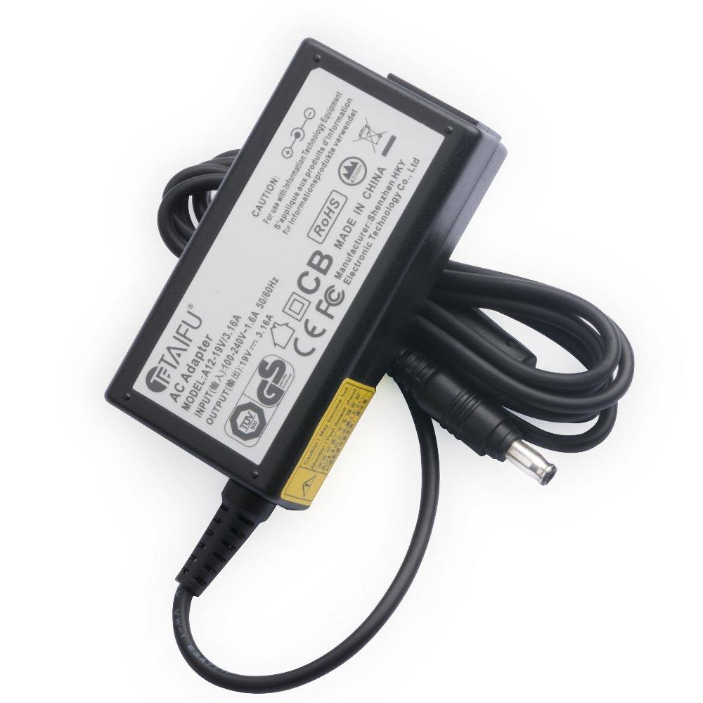 TAIFU AC Adaptador 19V 3,16A Fuente de alimentación para Samsung RV511 R522 R510 R515 R530 RC512 RV520 R730 SF310 SF410 cable cargador ordenador ...