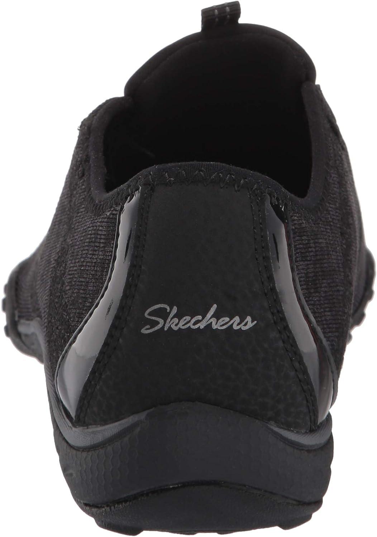Skechers Womens 23855 Breathe-Easy - Mogelijkheid Zwart