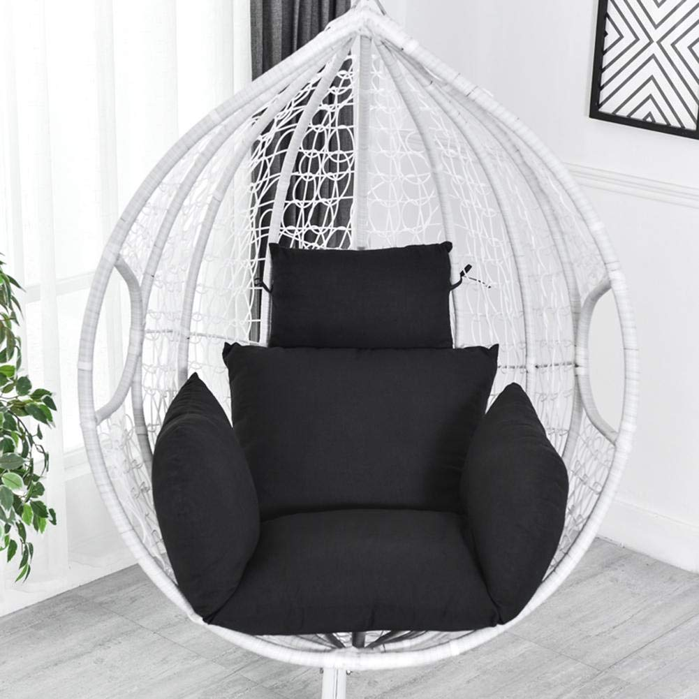 Enjoyyouselves Cuscino di Seduta per Altalena Cuscino di Sedia Dondolo Addensato Cuscini di Sedia Amaca Lavabili Cuscini di Sedia appesi Schienale con Poggiatesta