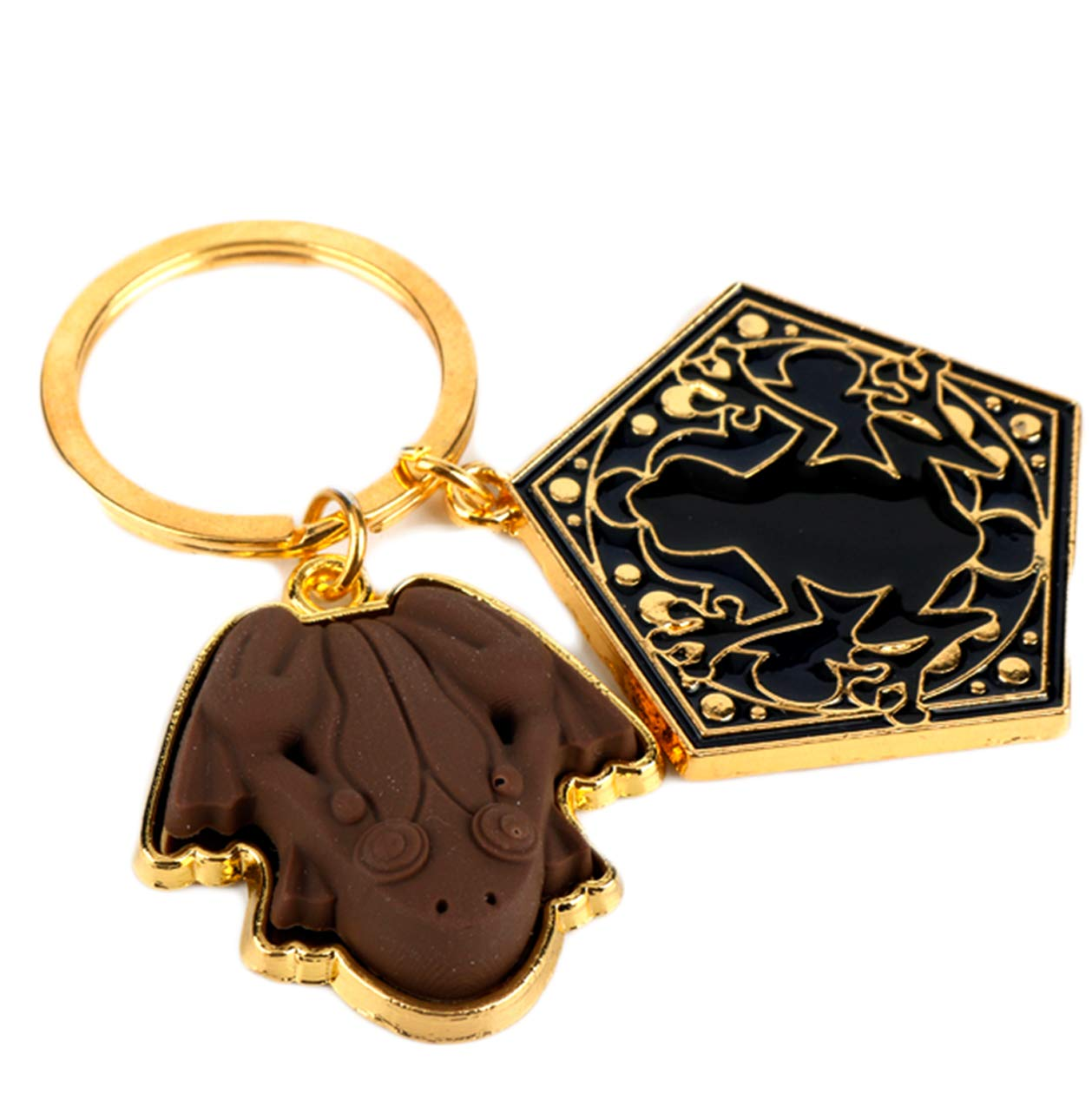 Deathly Hallows Keychain H P inspired charm Key ring