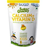Super Gummy Calcium + Vitamin D - 30 Chewable Supplements