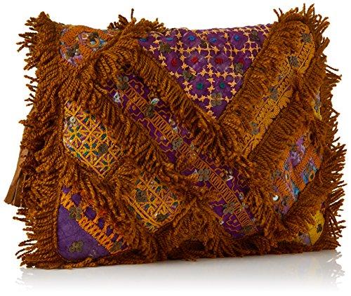 Antik Pochettes Chubba Batik Marron Tan Wallet YrxCSrqAw
