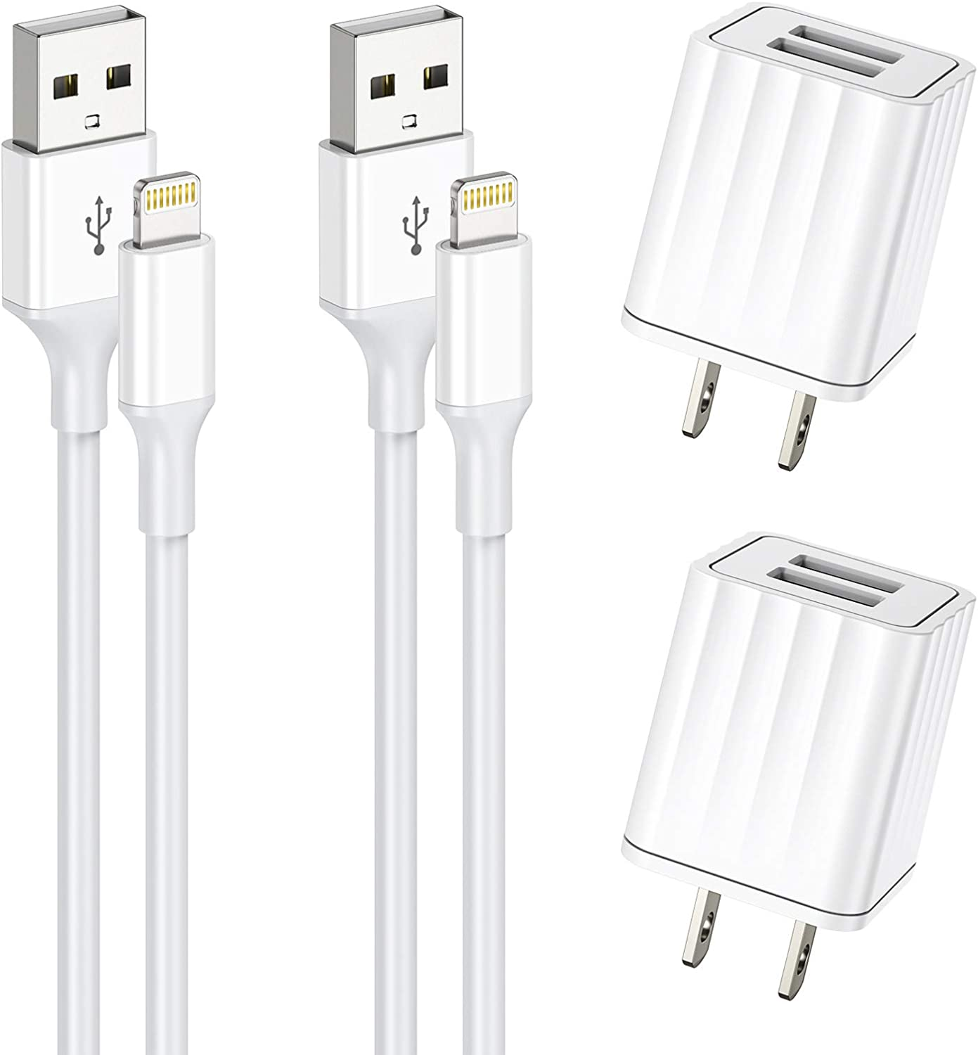 Vagavo 6ft Wall Chargers(2 Pack) $9.50 Coupon