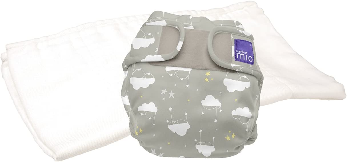 Bambino Mio Mioduo Couche Tout-en-Deux Kit dEssai Fiesta du Chat Taille 1 9 kg