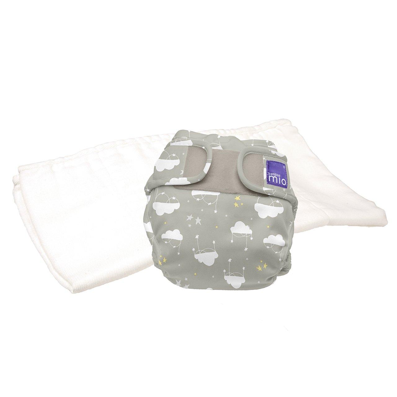 Bambino Mio, miosoft pannolino lavabile in due pezzi (kit di prova), Gran Bretagna, taglia 2 (9 kg+) TPMS2 GBR