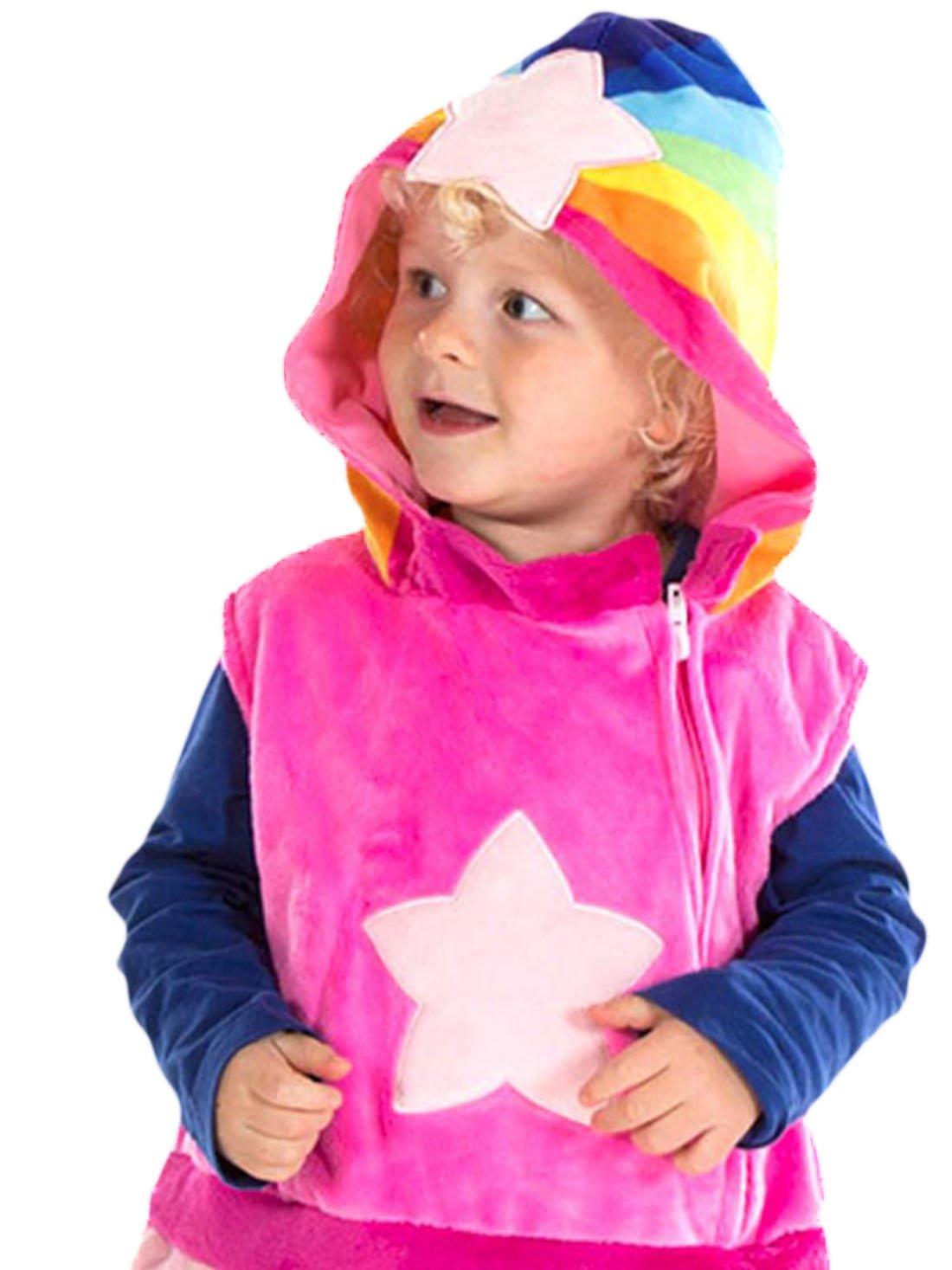 Karnevalsbud - Mädchen Mädchen Mädchen Wolkenkind Baba Rosa Karneval Kostüm , Mehrfarbig, Größe 92-98, 2-3 Jahre e720af