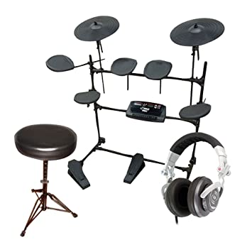 Pyle Electronic Drum set Stool and DJ Headphones Package - PED02M Electric Thunder Drum Kit  sc 1 th 225 & Amazon.com: Pyle Electronic Drum set Stool and DJ Headphones ... islam-shia.org