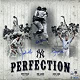 "MLB New York Yankees Triple Firmado Perfect Game Collage LE / 99 Fotografía, 20 ""x 20"""