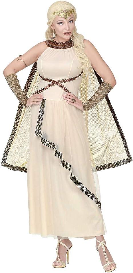 NET TOYS Elegante Disfraz Diosa Griega para Dama | Beis en Talla ...