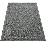 Pawkin Cat Litter Mat - Patented Design with Litter Camouflage - Extra Large - Durable - Easy to Clean - Soft - Fits Under Litter Box - Litter Free Floors