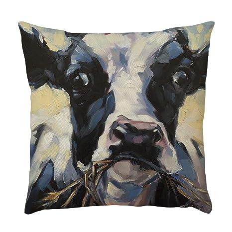 NPRADLA - Funda de cojín con diseño de Animales para sofá ...
