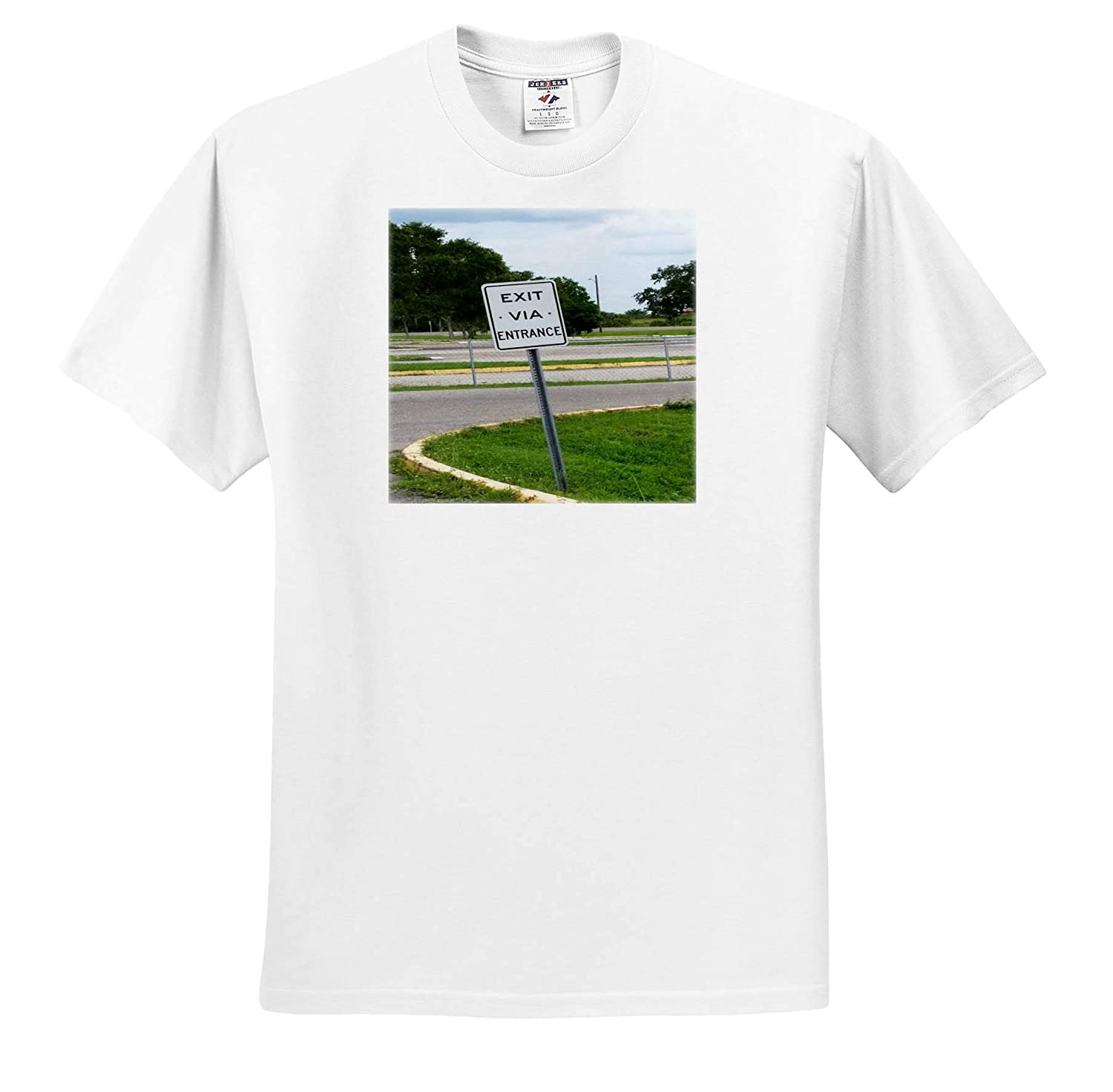 T-Shirts Fantastic Florida 3dRose Lens Art by Florene Image of Humorous Sign in North Ft Myers