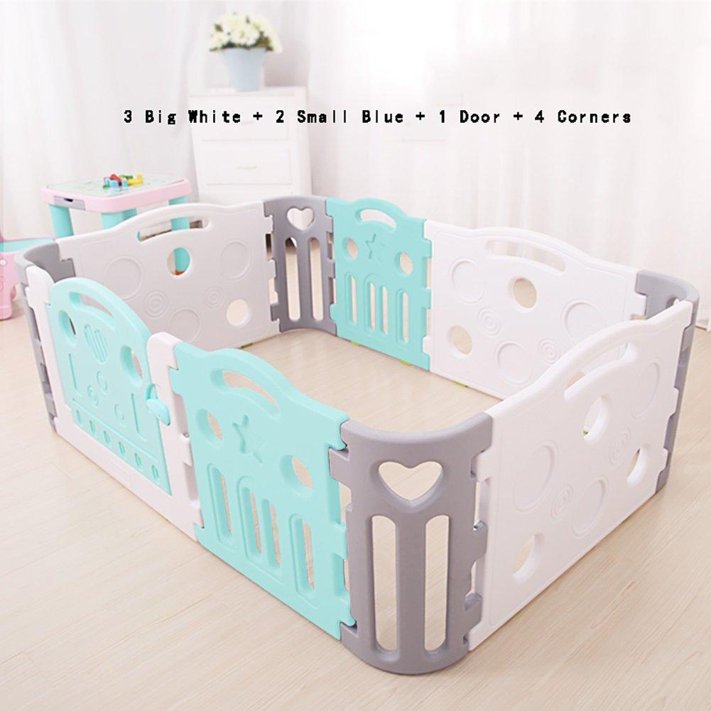 値引 赤ちゃんPlaypenプラスチック3大フェンス2小さなフェンス4コーナーパネル1強力でデュアブル - - Style1) 高品質の非毒性材料から作られたドアパネル (色 : (色 Style1) Style1 B07D1J4M43, コウナンク:6336795e --- a0267596.xsph.ru
