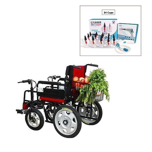 CHQYY Discapacitados Andador eléctrico Ancianos Transporte médico ...