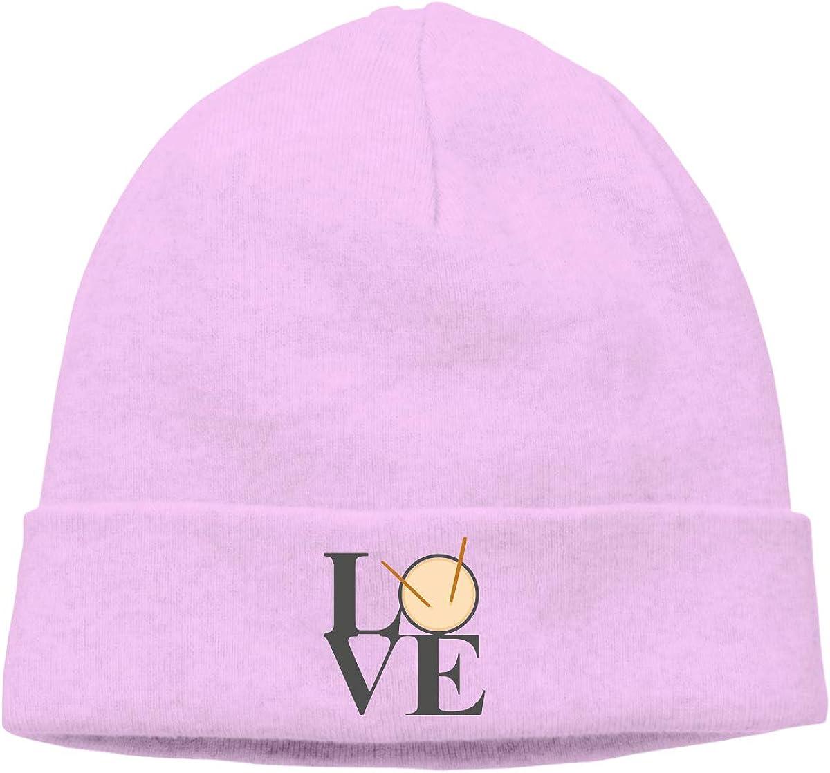 Love Drums Men /& Women Fleece Hat Outdoor Newsboy Hat