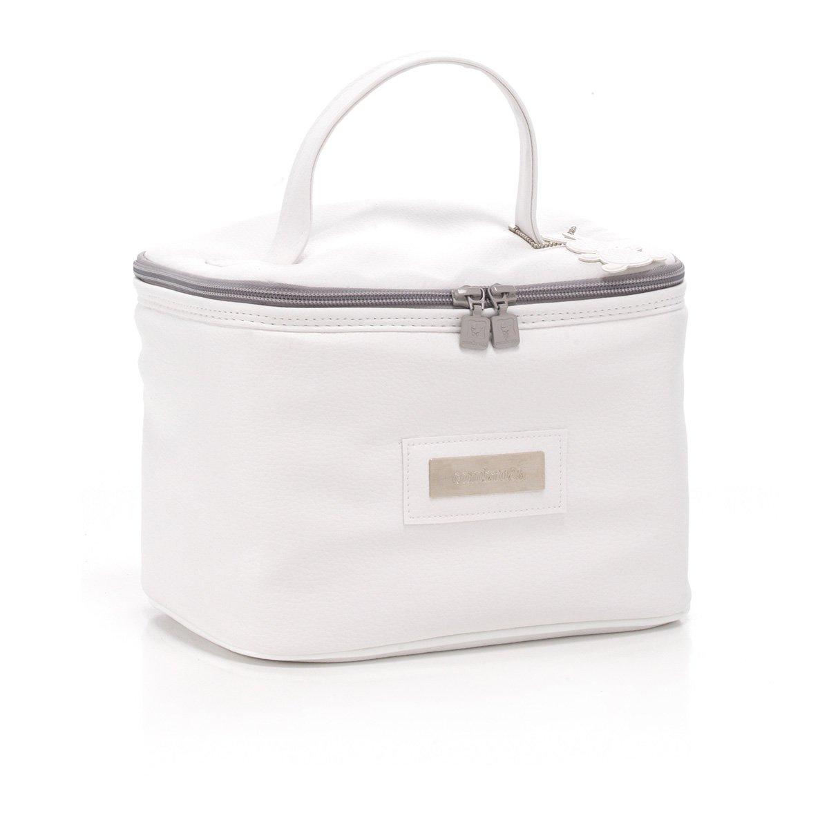 Cambrass Elegance - Bolso neceser mini, color blanco: Amazon.es: Bebé