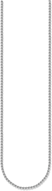 Thomas Sabo - Cadena unisex de plata de ley 925, ennegrecida