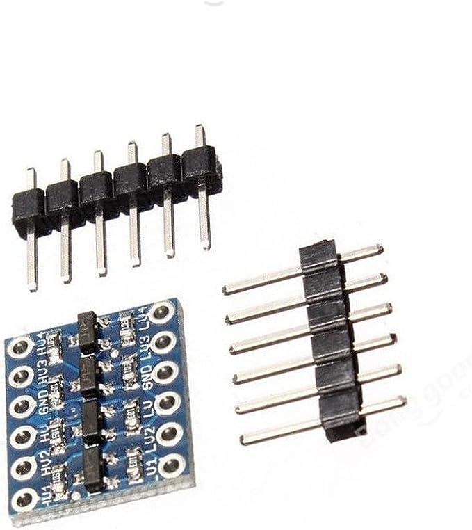 2pcs New IIC I2C Logic Level Converter Bi-Directional Module 5V to 3.3V