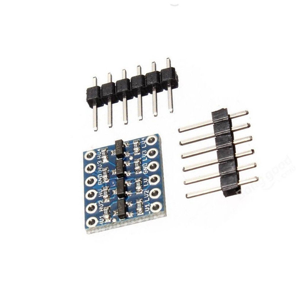 4 Channel Iic I2c Logic Level Converter Bi Directional Shifter Circuit Module 5v To 33v Compatible With Arduino By Atomic Market Computers Accessories