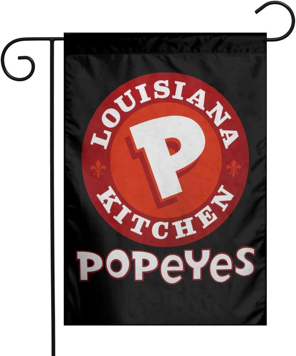 Popeyes Louisiana Garden Flag 1218in Family Decorative Outside Yard Decoration Flag