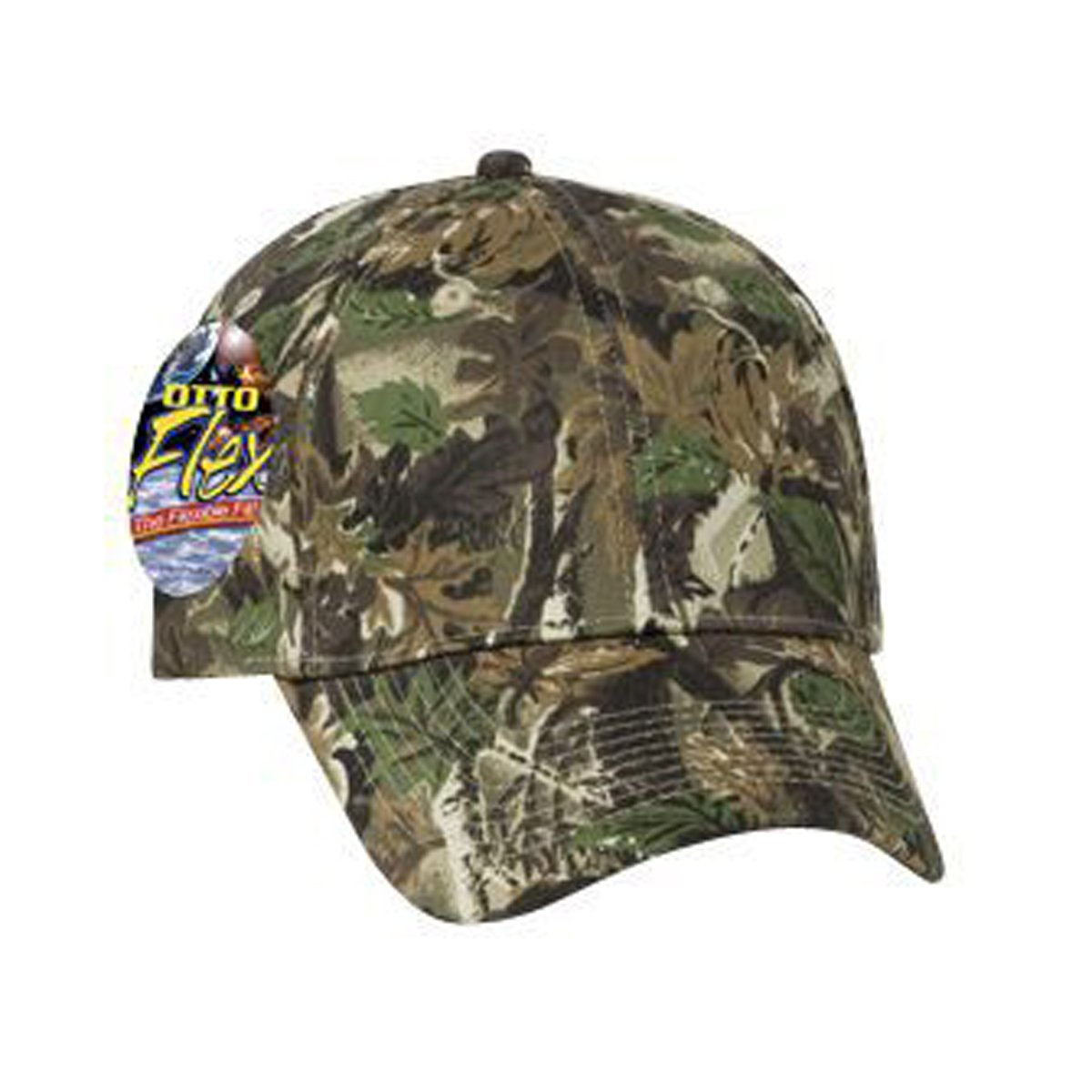 7f753ea6b2d Otto Otto Flex Stretchable Camouflage Cotton Twill Low Profile Style Caps  (S M) (L XL) at Amazon Men s Clothing store