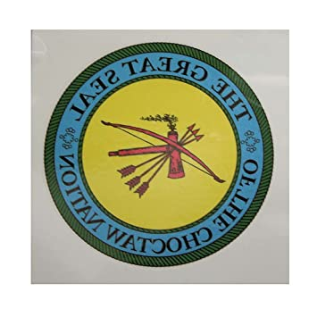 Temporary Tattoo Choctaw Nation Seal 3 Diameter By Cno Amazon