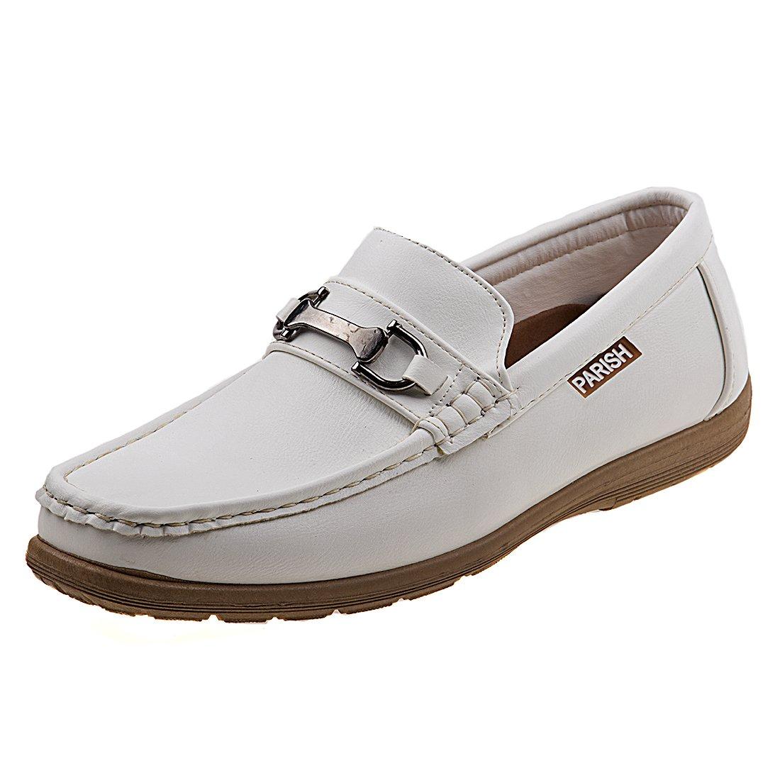 PARISH NATION Mens Slip On Sport Dress Shoe, White, Size 12 D(M) US'