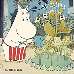 2017 Moomins on the Riviera Mini Wall Ca