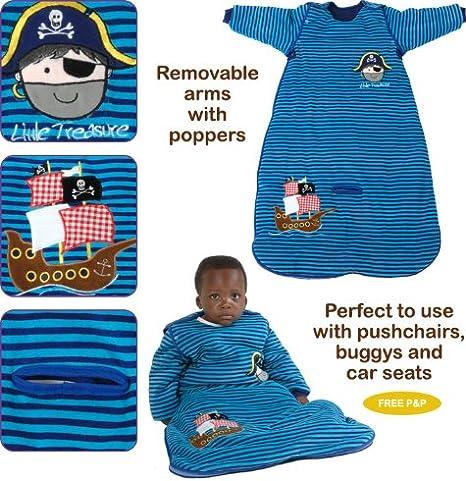 2.5 Tog Azul Pirata Dream Bag Viajar Saco de Dormir de Bebé - 0-6 ...