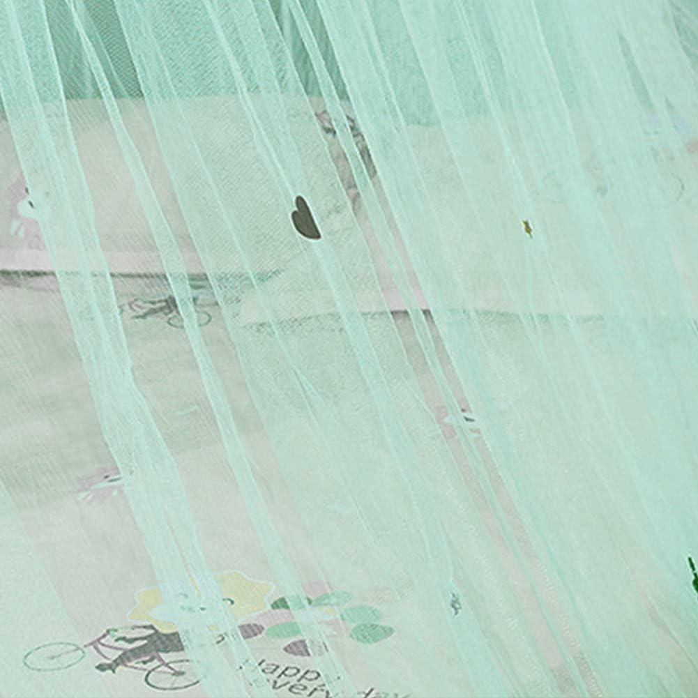 Free Size Spitze Netzstoff Moskitonetz atmungsaktiv Kinderzimmer Anti-Moskitonetz Prinzessinnen-Kuppel erh/öhter Insektenschutz Betthimmel mit feinsten L/öchern f/ür M/ädchen Rose