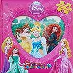 Mi primer libro de rompecabezas: Disney princesas. Vol. 3
