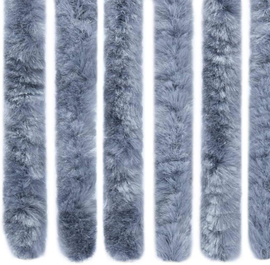 Chenilla Beige 56x185 cm Festnight Cortina Mosquiteras para Puertas Cortina para Puerta Exterior
