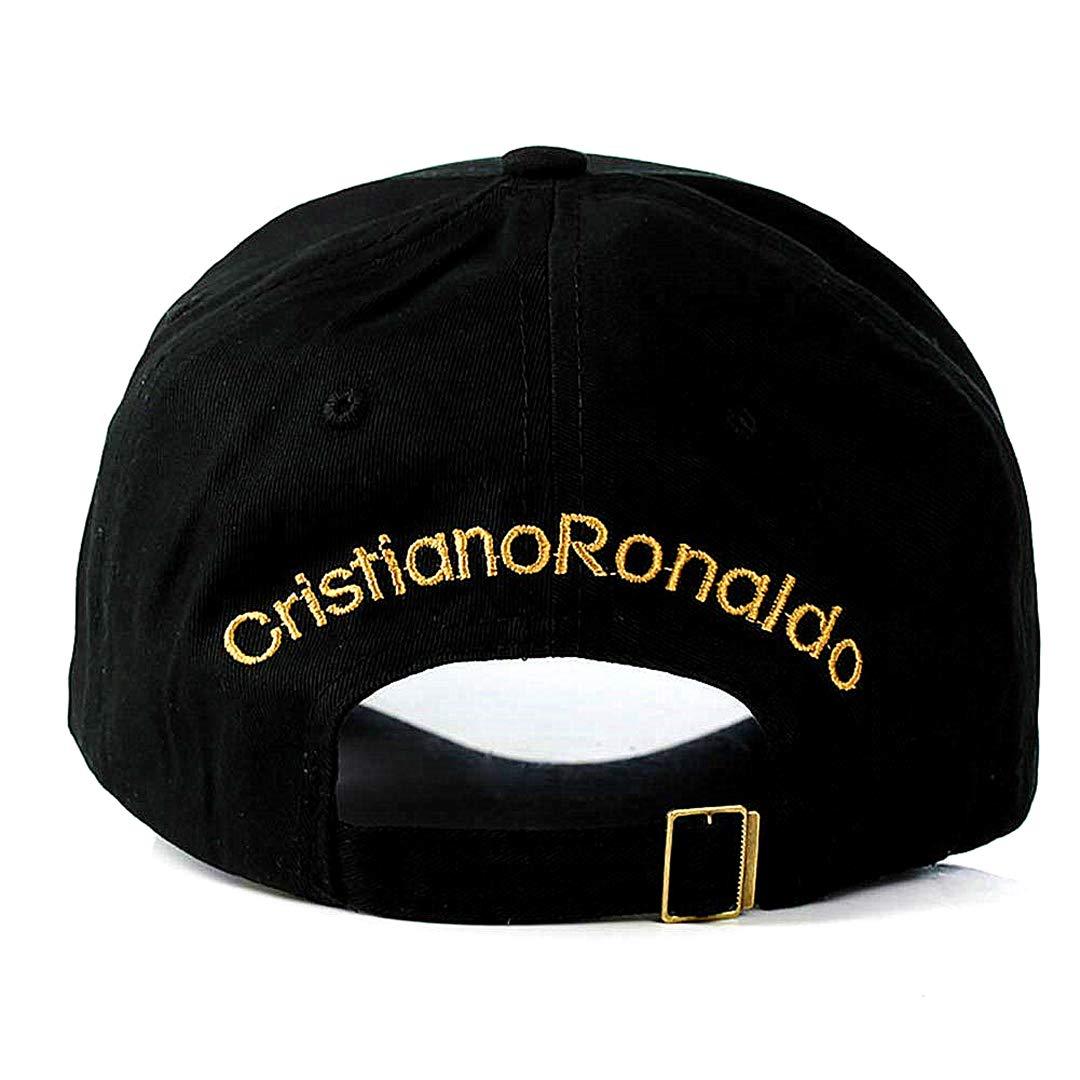 Tapas de Cristiano Ronaldo CR7 Real Madrid Footbal Sombrero de béisbol del Snapback de fútbol: Amazon.es: Hogar