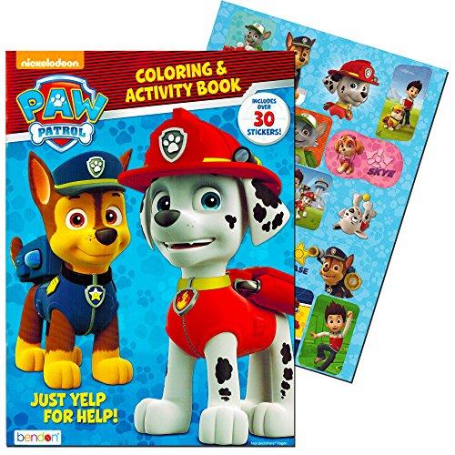 Paw Patrol Coloring & Activity Book