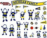 NCAA Michigan Wolverines Decal Family
