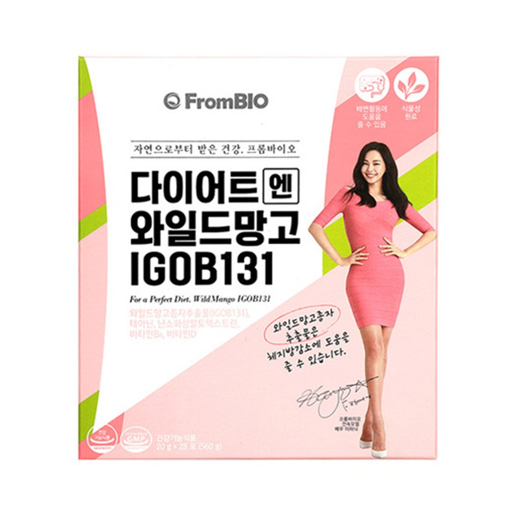 [From Bio] Diet & Wild Mango Jelly for 4weeks (28stick) by Lee hani /Diet Jelly/ Best Food for Loss Weight_Diet/Loss weight/ by Frombio