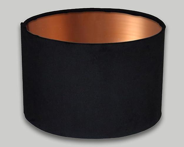 Black velvet drum lampshade brushed copper inner 20cm 25cm 30cm 35cm black velvet drum lampshade brushed copper inner 20cm 25cm 30cm 35cm 40cm 50cm 60cm 70cm lamp aloadofball Images