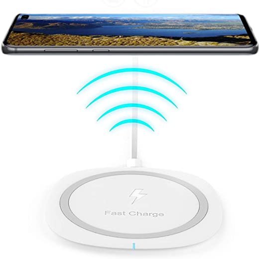 Fast Charge Wireless Charger for Samsung Galaxy A30+,10W Qi